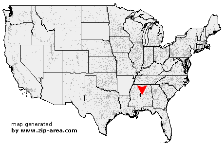 US Zip code Knoxville Alabama