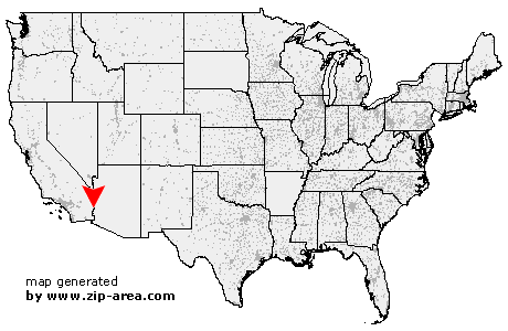 Us Zip Code Ehrenberg Arizona