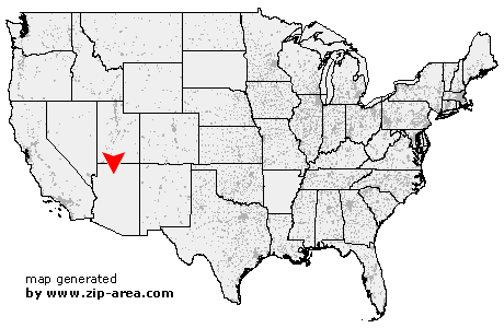 US Zip Code Grand Canyon Arizona - Grand canyon location on us map