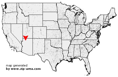 Supai Arizona Map.Us Zip Code Supai Arizona