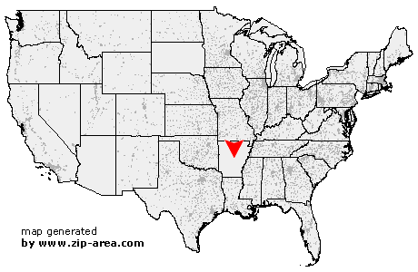 US Zip Code North Little Rock Arkansas - Little rock arkansas on us map