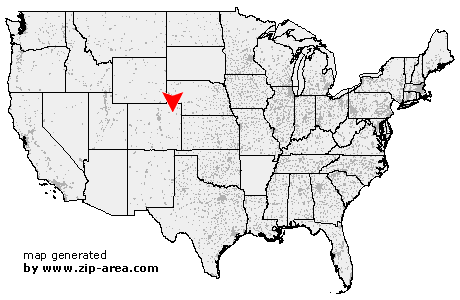 Akron Colorado Map.Us Zip Code Akron Colorado