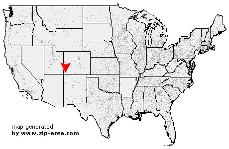 US Zip code Mesa Verde National Park Colorado
