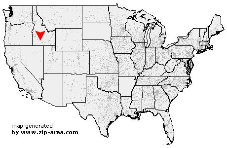 Hagerman Idaho Map.Us Zip Code Hagerman Idaho