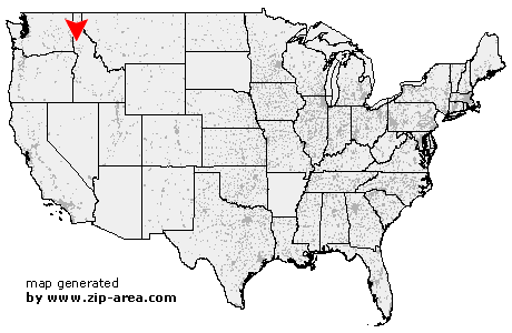 Kendrick Idaho Map.Us Zip Code Kendrick Idaho