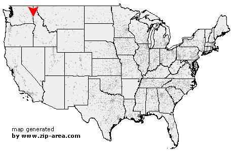 Potlatch Idaho Map.Us Zip Code Potlatch Idaho