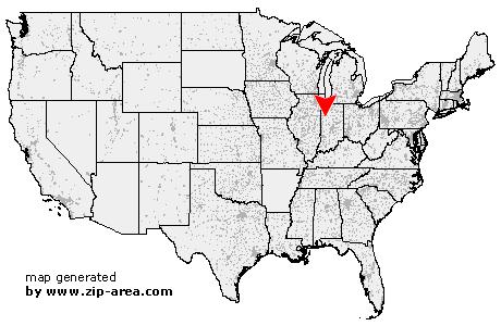 Us Zip Code Brookston Indiana