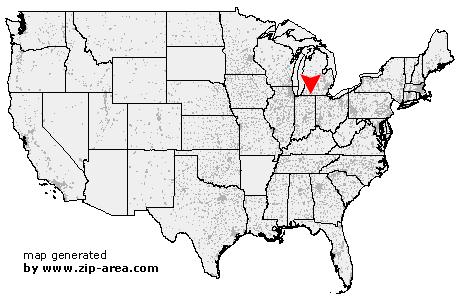 Howe Indiana Map.Us Zip Code Howe Indiana