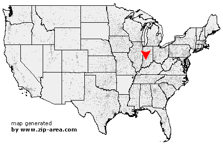 Stanford Zip Code Map.Us Zip Code Stanford Indiana