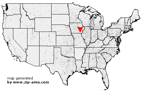 Cantril Iowa Map.Us Zip Code Cantril Iowa