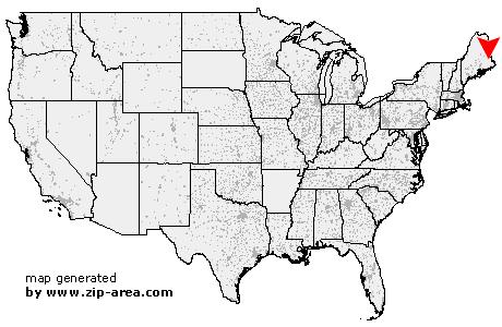 Grand Lake Stream Maine Map.Us Zip Code Grand Lake Stream Maine