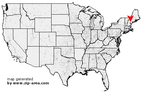 Porter Maine Map.Us Zip Code Porter Maine