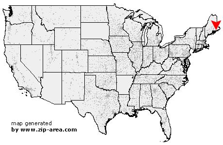 Steuben Maine Map.Us Zip Code Steuben Maine