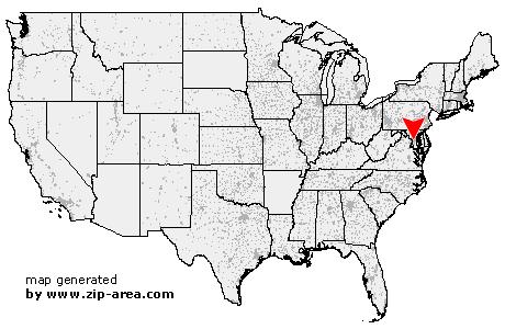 US Zip Code Suitland Maryland - Area code map of us