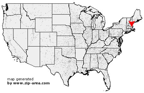 US Zip code Newton Highlands  Massachusetts
