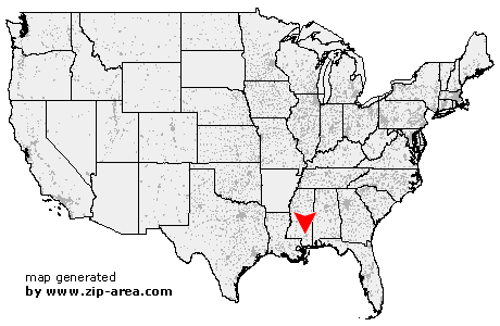 Hattiesburg Zip Code Map.Us Zip Code Hattiesburg Mississippi