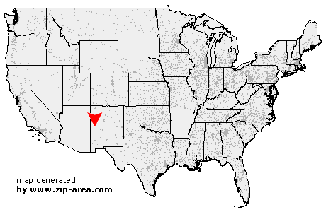 Us Zip Code Pie Town New Mexico