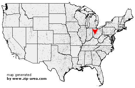 Jamestown ohio zip code