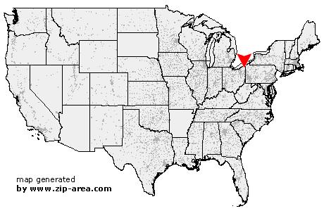 Orwell Ohio Map.Us Zip Code Orwell Ohio