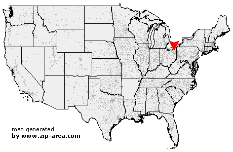 Us Zip Code Ravenna Ohio