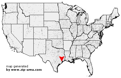 US Zip code Alvin - Texas