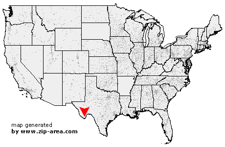 US Zip Code Big Bend National Park Texas - Big bend national park map us