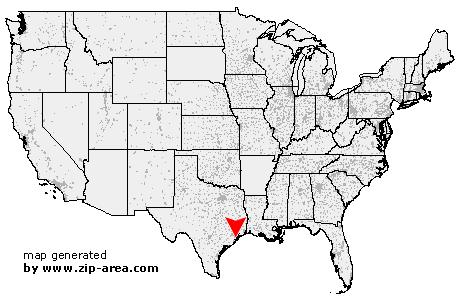 US Zip code Santa Fe - Texas