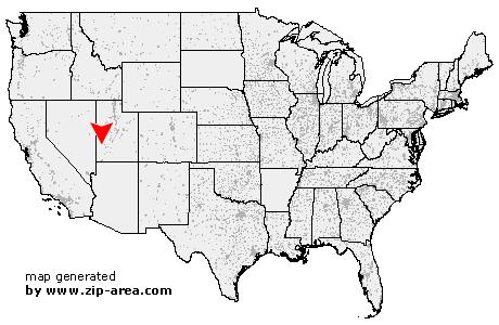 Milford Utah Map.Us Zip Code Milford Utah