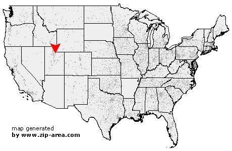 Oakley Utah Map.Us Zip Code Oakley Utah