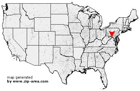 US Zip Code Clear Brook Virginia - Clear us map