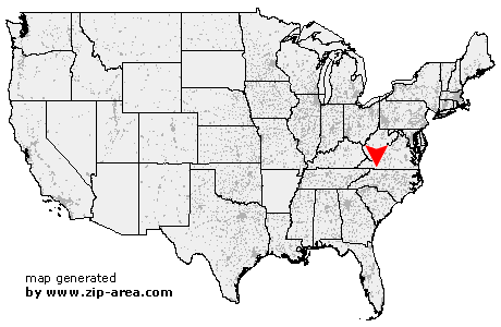 Us Zip Code Galax Virginia