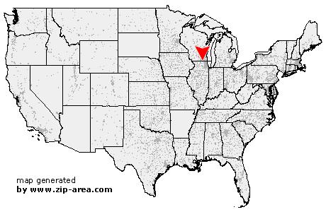 US Zip code Fontana Wisconsin