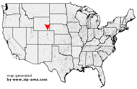 US Zip Code Cheyenne  Wyoming