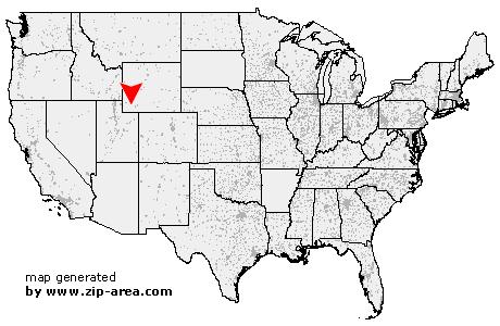 Little America Wyoming Map.Us Zip Code Little America Wyoming